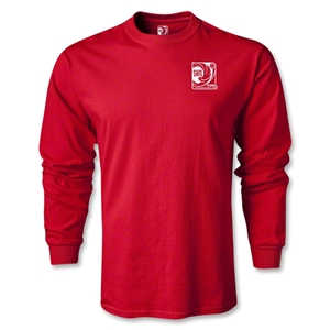 FIFA Confederations Cup Brazil 2013 LS Small Emblem T-Shirt (Red)