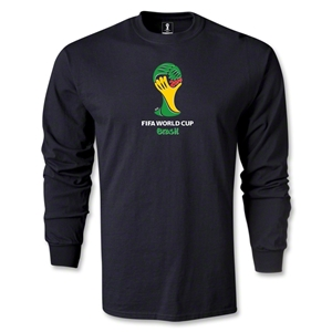 2014 FIFA World Cup Brazil(TM) Emblem LS T-Shirt (Black)