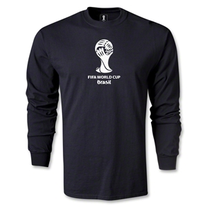 2014 FIFA World Cup Brazil(TM) LS Emblem T-Shirt (Black)
