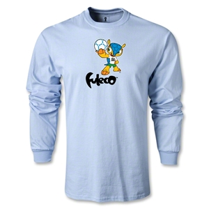 2014 FIFA World Cup Brazil(TM) LS Mascot T-Shirt (Sky Blue)