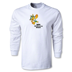 2014 FIFA World Cup Brazil(TM) LS Mascot T-Shirt (White)