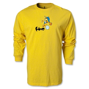 2014 FIFA World Cup Brazil(TM) LS Mascot T-Shirt (Yellow)