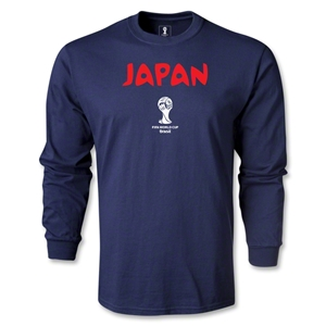 Japan 2014 FIFA World Cup Brazil(TM) Core LS T-Shirt (Navy)