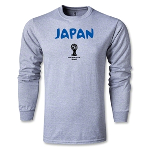 Japan 2014 FIFA World Cup Brazil(TM) Core LS T-Shirt (Gray)