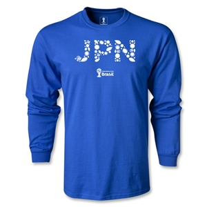 Japan 2014 FIFA World Cup Brazil(TM) Team LS T-Shirt (Royal)