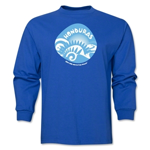 Honduras 2014 FIFA World Cup Brazil(TM) Men's LS Icon T-Shirt (Royal)