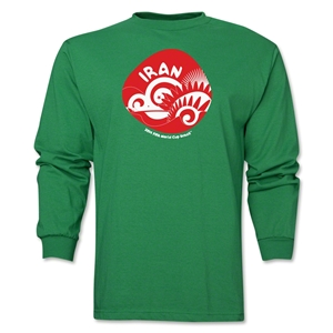 Iran 2014 FIFA World Cup Brazil(TM) Men's LS Icon T-Shirt (Green)