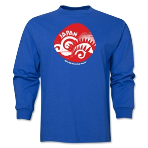 Japan 2014 FIFA World Cup Brazil(TM) Men's LS Icon T-Shirt (Royal)