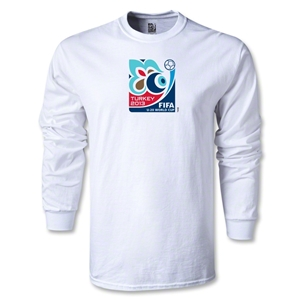FIFA U-20 World Cup Turkey 2013 LS Emblem T-Shirt (White)