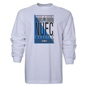 Newcastle United NUFC LS T-Shirt (White)