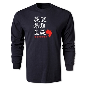 Angola LS Country T-Shirt (Black)