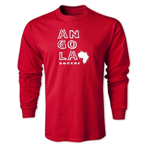 Angola LS Country T-Shirt (Red)