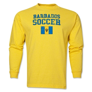 Barbados LS Soccer T-Shirt (Yellow)
