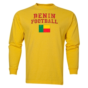 Benin LS Football T-Shirt (Yellow)