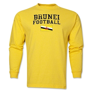 Brunei LS Football T-Shirt (Yellow)