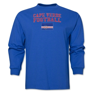 Cape Verde LS Football T-Shirt (Royal)