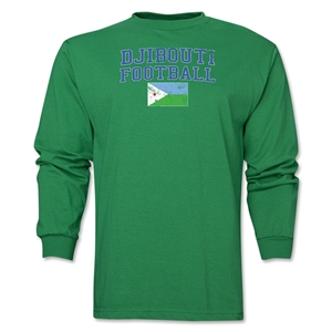 Djibouti LS Football T-Shirt (Green)