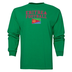 Eritrea LS Football T-Shirt (Green)