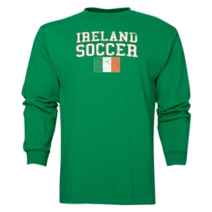 Ireland LS Soccer T-Shirt (Green)