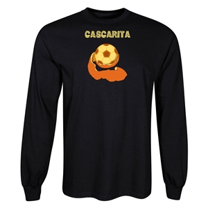 Cascarita LS T-Shirt (Black)