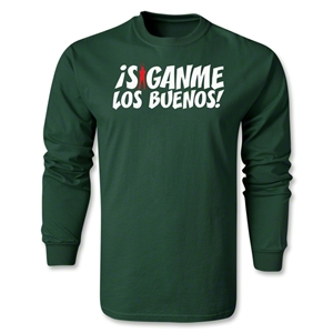 Chapulin Los Buenos LS T-Shirt (Dark Green)