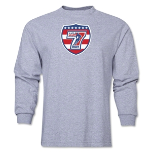 USA Sevens Rugby Long Sleeve T-Shirt (Gray)