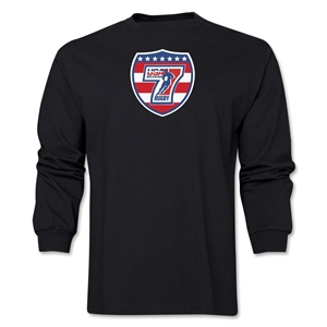 USA Sevens Rugby Long Sleeve T-Shirt (Black)