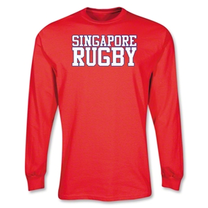 Singapore Rugby Supporter LS T-Shirt (Red)