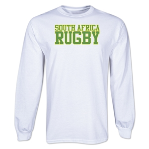 South Africa Rugby Supporter LS T-Shirt (White)