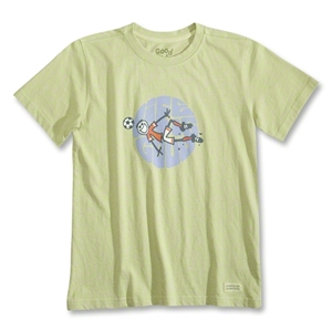 Life is Good Goal Groove Crusher T-Shirt