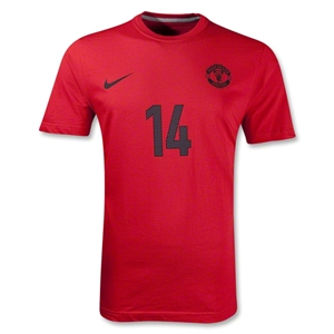Manchester United Chicharito T-Shirt (Red)