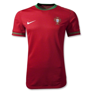 Portugal Authentic 12/14 Home Soccer Jersey