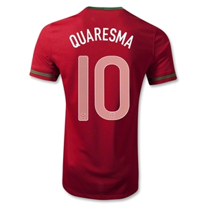 Portugal 12/14 QUARESMA Home Soccer Jersey