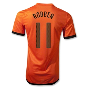 Netherlands 12/14 ROBBEN Authentic Home Soccer Jersey