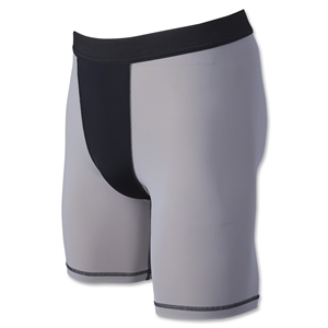 Svforza Men's Two-Tone Compression Short-9 Inseam (Sv/Bk)
