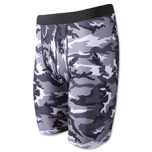 Men's Camouflage Compression Short (Blk/Wht)
