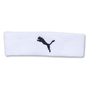PUMA Team Headband (White)