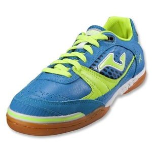 Joma Sala Max Indoor Soccer Shoes (Royal/Citron/Black)
