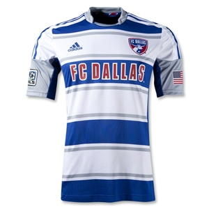 FC Dallas 2012 Authentic Away Soccer Jersey