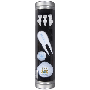 Manchester City Golf Gift Tube