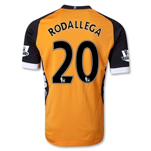 Fulham 12/13 RODALLEGA Authentic Away Soccer Jersey