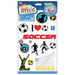 Sportstics Soccer Decals/Stickers