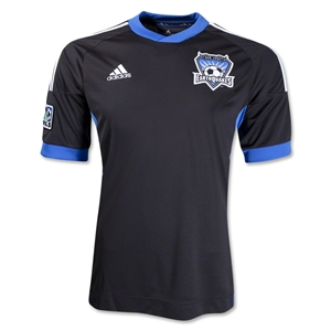 San Jose Earthquakes 2013 Primary Replica Soccer Jersey