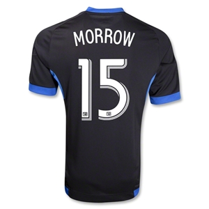 San Jose Earthquakes 2013 MORROW Primary Soccer Jersey