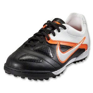 Nike CTR360 Libretto II Junior TF Turf Shoes (Black/White/Total Orange)