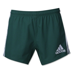 adidas 3-Stripes Performance Rugby Short (Dark Green)