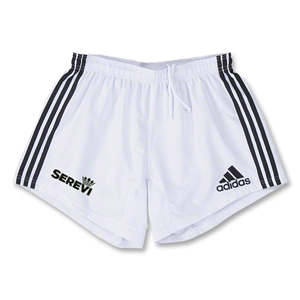adidas Serevi Three Stripes Short (White/Black)