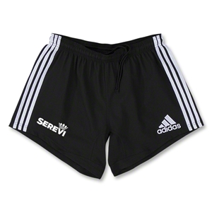 adidas Serevi Three Stripes Short (Black)