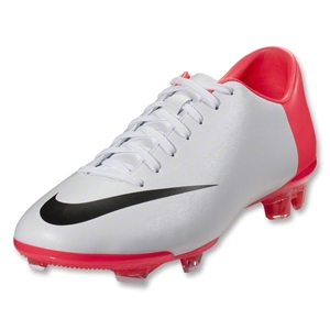 Nike Mercurial Glide III FG (White/Black/Solar Red)