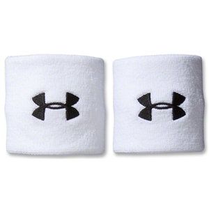 Under Armour Logo Wristband (White)